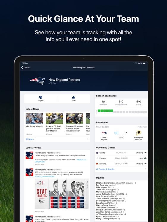 Pro Football Live for iPad screenshot-5