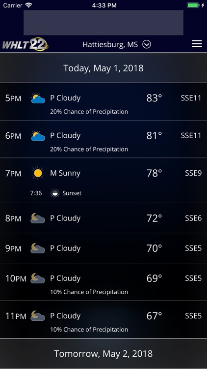 WHLT Weather – Hattiesburg, MS screenshot-3