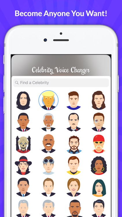 Celebrity Voice Changer - Face