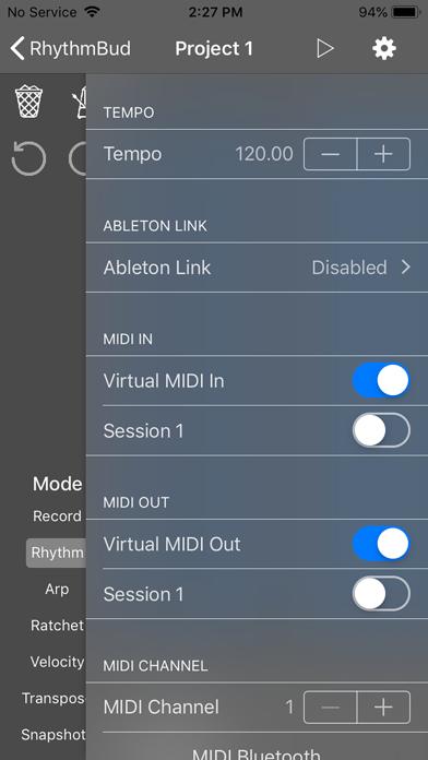 RhythmBud - AUv3 MIDI FX screenshot 4