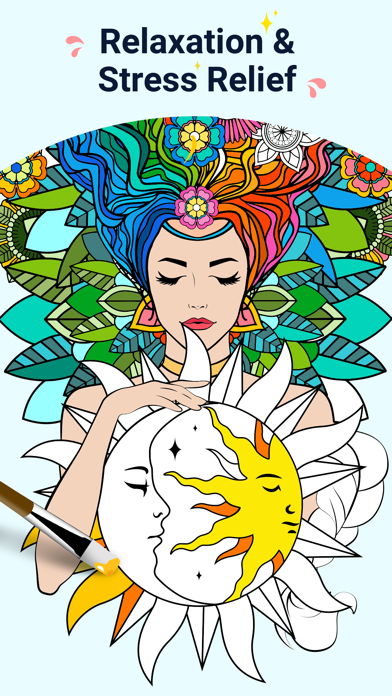 Star Coloring Pages by Number screenshot 1