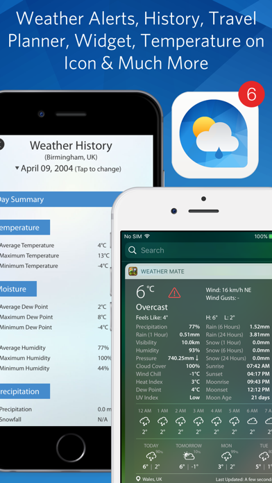Screenshot for Weather Mate - Live Radar Maps in Singapore App Store