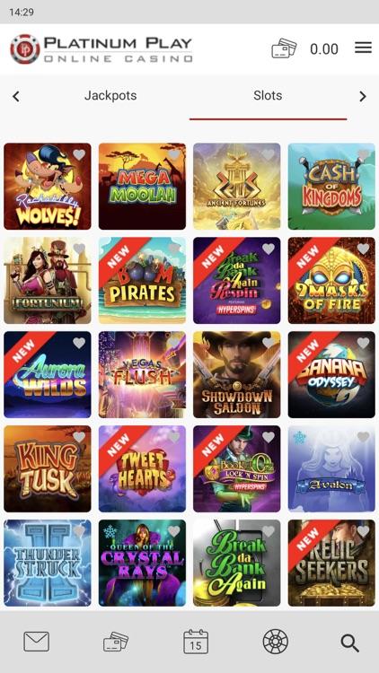 Platinum Play Online Casino screenshot-7