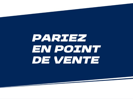 Screenshot #4 pour ParionsSport Point De Vente®