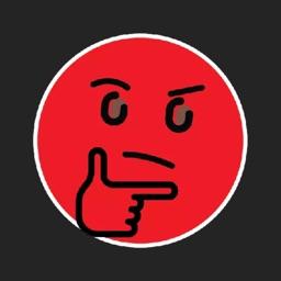Red Emoji Stickers