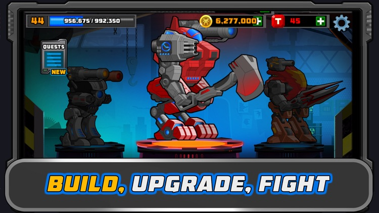 Super Mechs: Battle Bots Arena screenshot-0