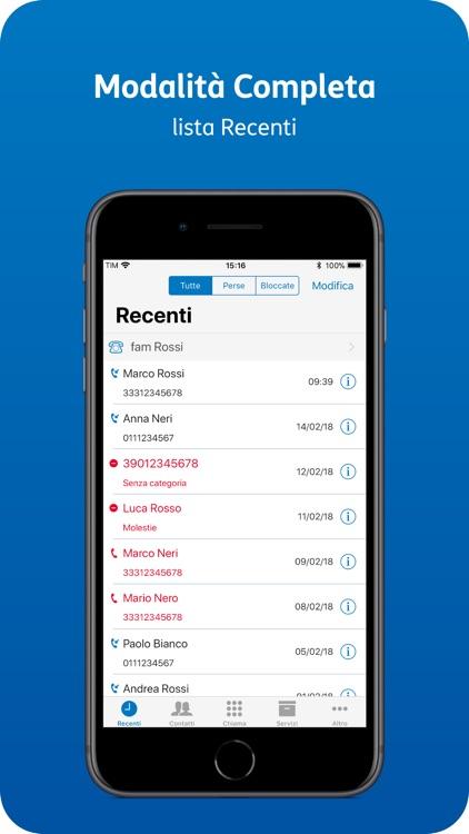 TIM Telefono screenshot-6