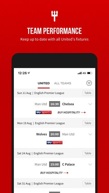 Manchester United Official App screenshot-4