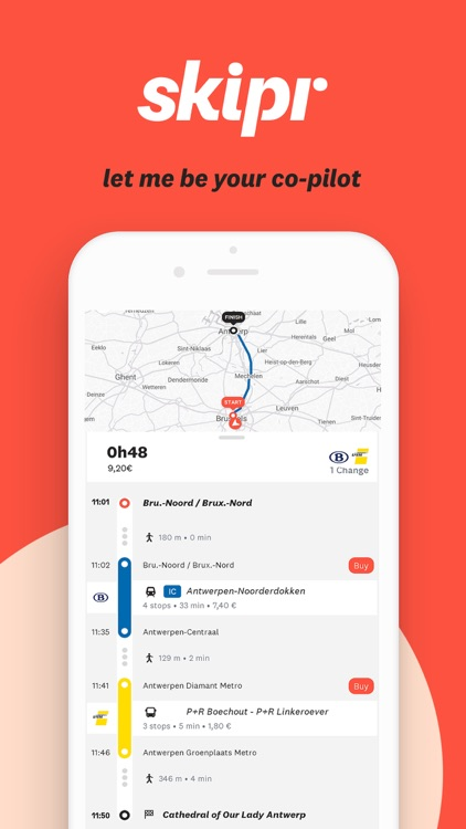 Skipr - A smart route planner