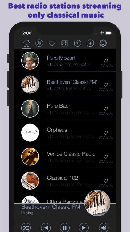 Classical Radio∯ screenshot-0