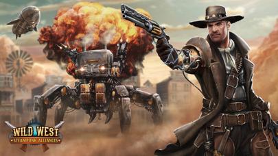Wild West: Steampunk Alliances screenshot one