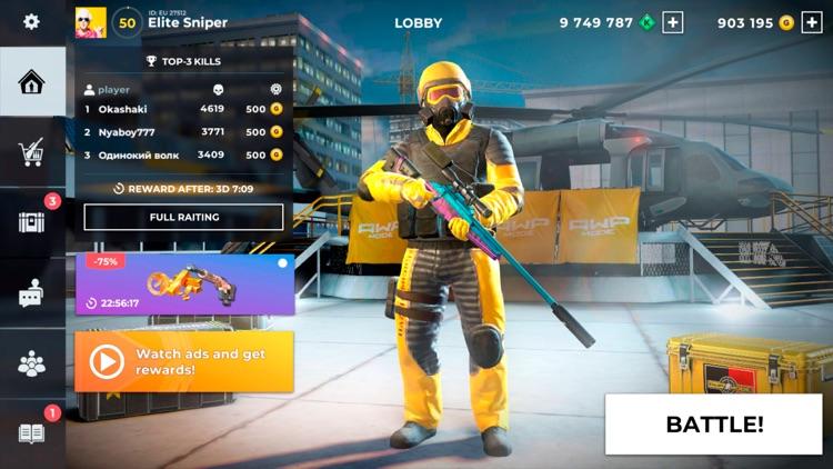 AWP Mode: Epic 3D Sniper Game screenshot-6