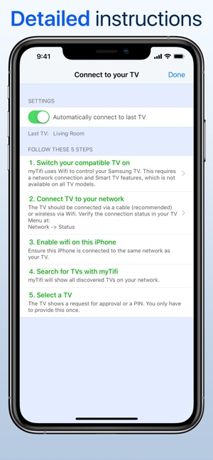myTifi remote for Samsung TV on the App Store