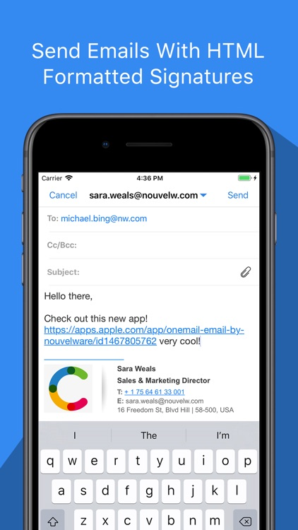 OneMail - Email by Nouvelware screenshot-3
