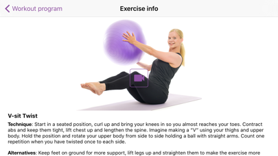 Training Ball Exercise Band review screenshots