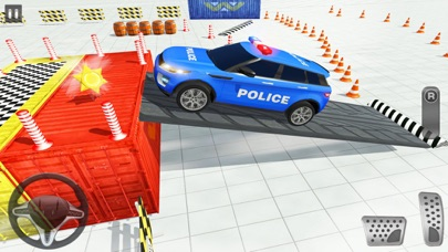 Advance Police Parking Game screenshot 3