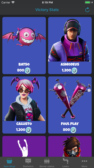 Foto do Victory Stats for Fortnite