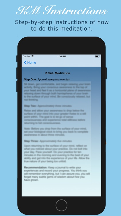 Kelee® Meditation screenshot-3