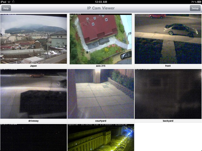IP Cam Viewer Lite dans l'App Store