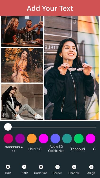 Pic Collage Maker - Photo Grid screenshot-4