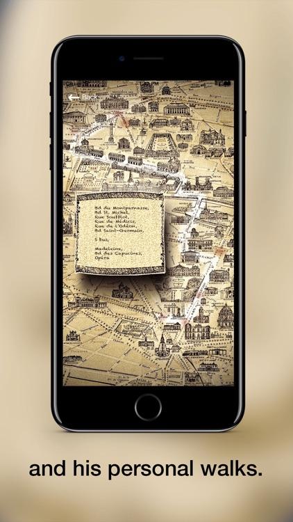 Hemingway in Paris screenshot-4