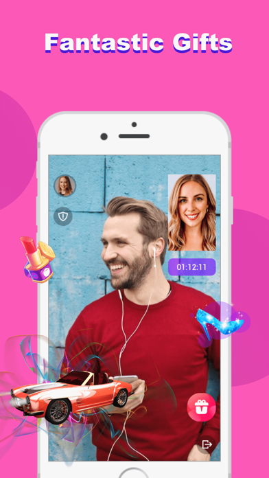 Screenshot for CIAO - Meet by Live Video Chat in Turkey App Store