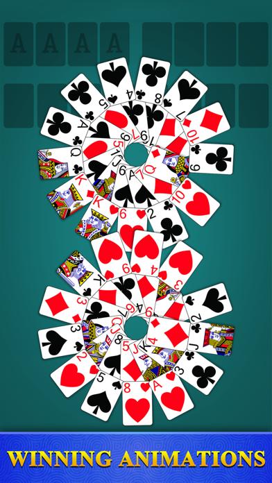 Freecell Solitaire - Card GameScreenshot von 5