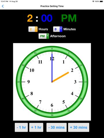 Practice Clock - Speak Time! - náhled