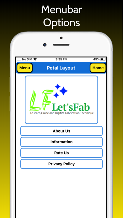 Petal Layout screenshot 4