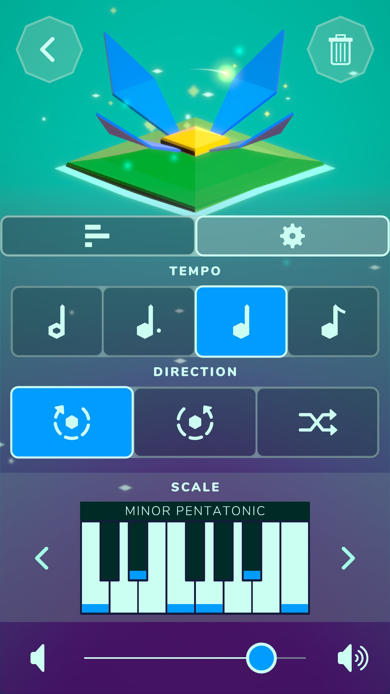Screenshot do app Lily - Playful Music Creation