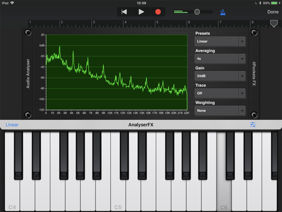 Analyser & Tuner AUv3 Plugin