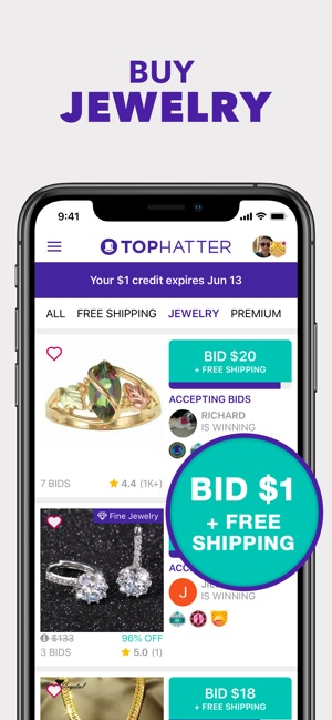 Tophatter: Win Fun Discounts on the App Store