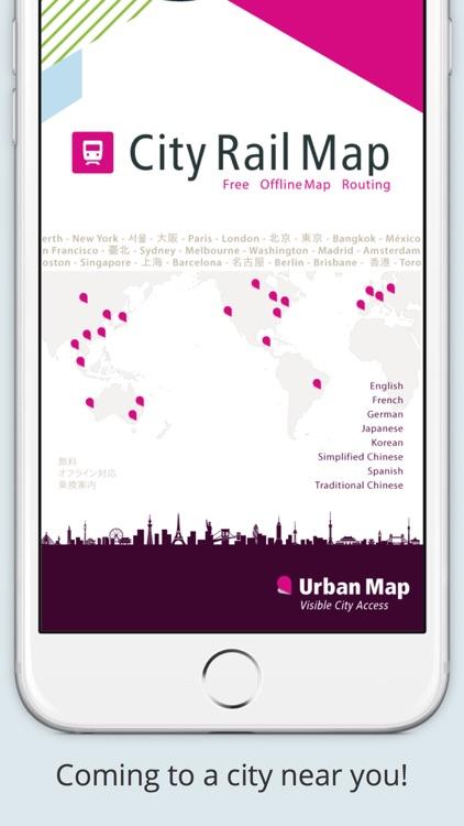 City Rail Map - Travel Offline screenshot-3