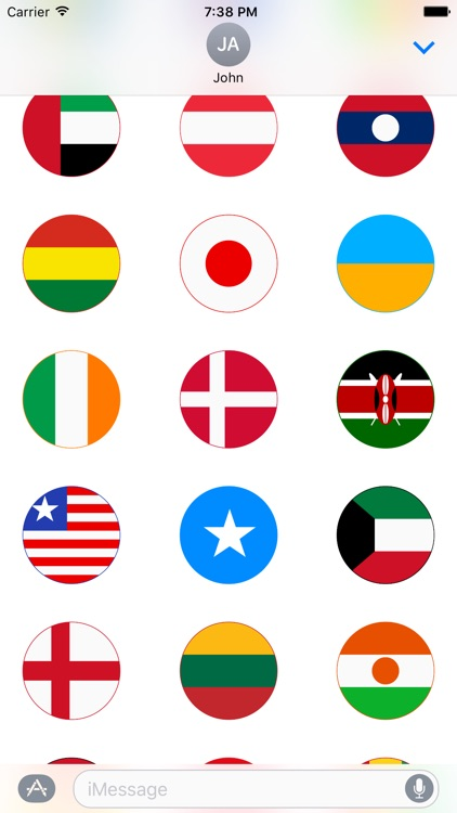 World Stickers for iMessage screenshot-4
