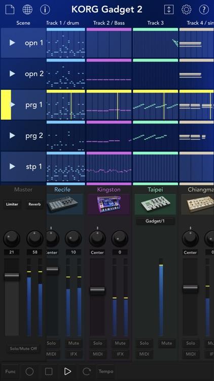 KORG Gadget 2 screenshot-0
