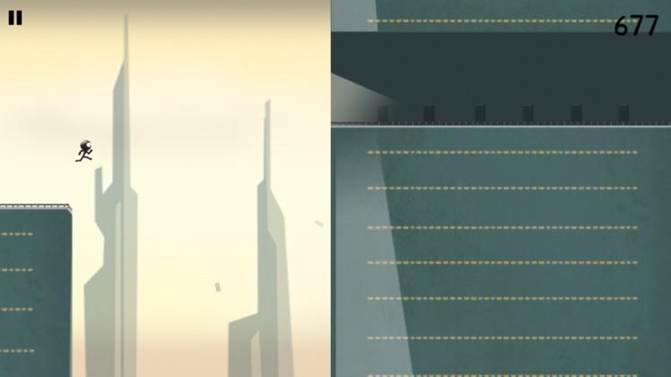 Stickman Roof Runner screenshot-0