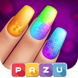 Girls Nail Salon - Kids Games