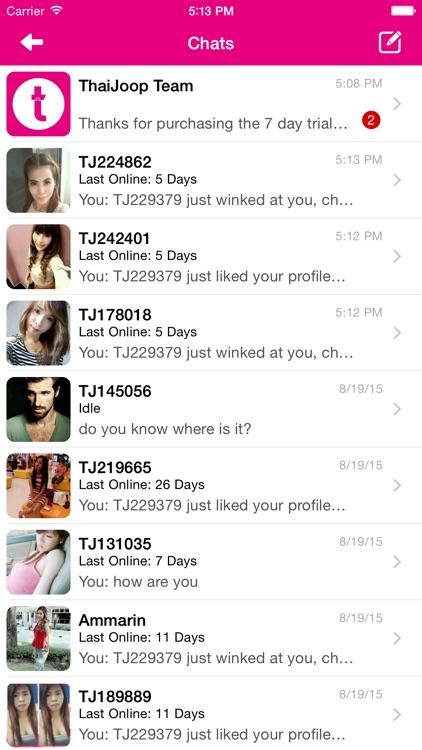 ThaiJoop - Thai Dating screenshot-3