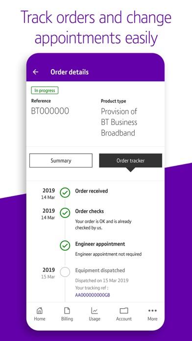 BT Business screenshot four