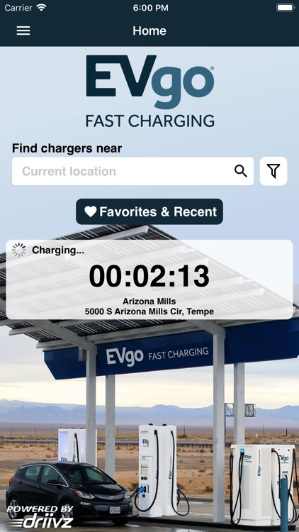 EVgo EV Chargers screenshot-0