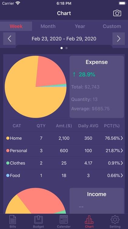 Bookkeeping & Budget screenshot-4