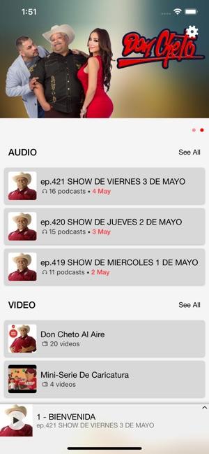 Don Cheto Al Aire On The App Store