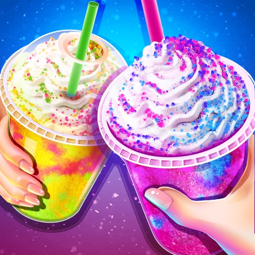 Rainbow Unicorn Ice Cream Game