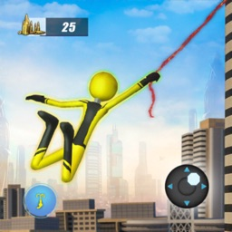 Stickman Rope Hero Fight