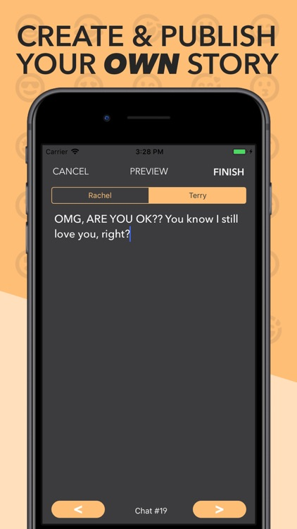 SHADOW - Chat Texting Stories screenshot-3