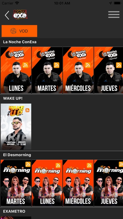 Exa Honduras Radio screenshot-3