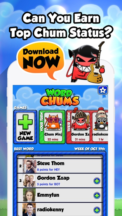 Word Chums for windows pc