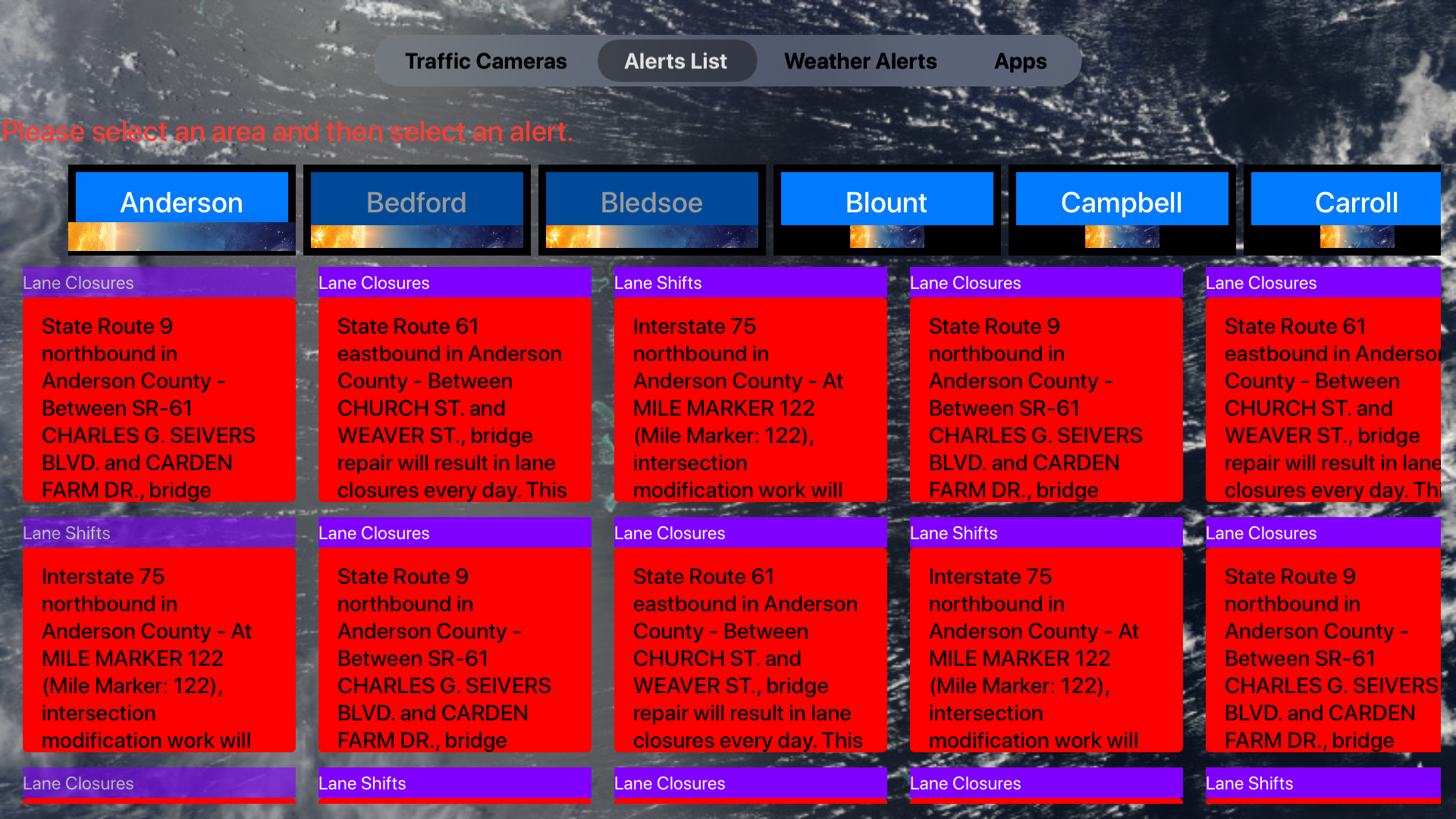 Traffic Cameras Tennessee Pro screenshot 20