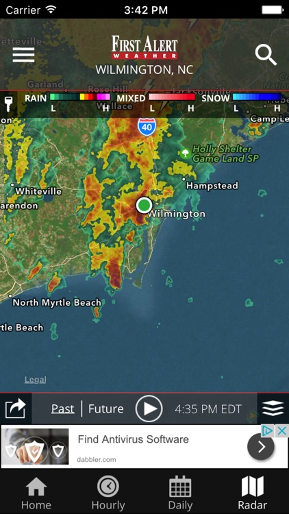 WECT 6 First Alert Weather screenshot-0