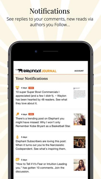 Elephant Journal screenshot-4